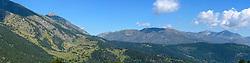 Pano mountains Espot, Spain
