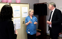 "Scottish Labour leader Richard Leonard and Health spokesperson Monica Lennon met with midwives in NHS Lanarkshire, ahead of a Scottish Labour debate which calls on the SNP Government to invest an additional £10 million for the implementation of Best Start and to investigate claims that midwives are not being given sufficient resources to do their jobs.<br /> <br /> Scottish Labour will use parliamentary time this week to call on the SNP Government to investigate reports that midwives do not have enough resources to do their jobs safely.<br /> <br /> Concerns have been raised in an open letter by midwives in NHS Lothian, which claim they do not have enough computers, equipment and pool cars.<br /> <br /> Scottish Labour have also called for an additional £10 million to be allocated towards the implementation of the Best Start recommendations, to ensure that midwives are given adequate time, training and resources.<br /> <br /> Scottish Labour Health Spokesperson Monica Lennon said:<br /> <br /> ""Midwives play a crucial role in caring for women and babies. The best way of recognising their contribution to our NHS is by making sure they have enough resources to do their jobs safely.<br /> <br /> ""That's why Scottish Labour is calling on the SNP Government to investigate reports about a lack of equipment and resources, and to provide an additional £10 million towards the implementation of the Best Start recommendations.<br /> <br /> ""The Health Secretary must listen to the concerns of midwives and take urgent action to address the workforce crisis.""<br /> <br /> Pictured: Richard Leonard and Monica Lennon chat to consultant midwife Maureen McSherry<br /> <br /> Alex Todd 