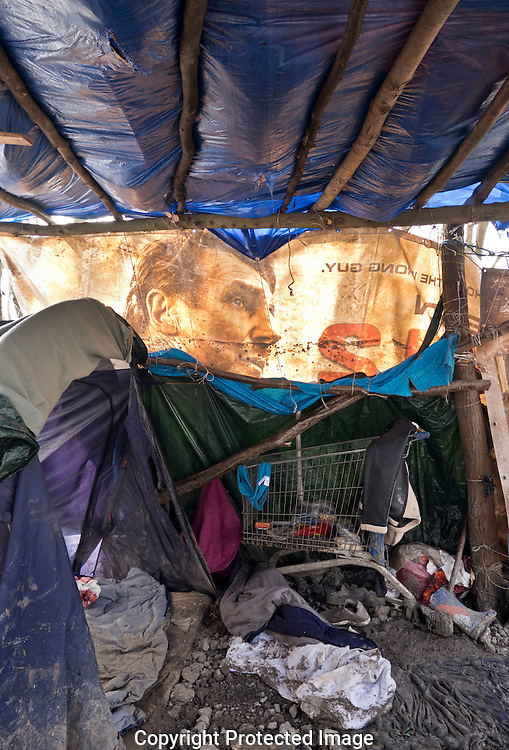 Dunkirk Grand-Synthe Refugee Camp was home to hundreds of families who fled war & oppression in the Middle East, now abandoned. Living conditions were dreadful and inhumane.