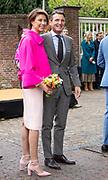 Koningsdag 2019 in Amersfoort / Kingsday 2019 in Amersfoort.<br /> <br /> Op de foto: Prins Maurits en Prinses  Marilene