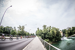 Peloton in Tacen during Stage 2 of 24th Tour of Slovenia 2017 / Tour de Slovenie from Ljubljana to Ljubljana (169,9 km) cycling race on June 16, 2017 in Slovenia. Photo by Vid Ponikvar / Sportida