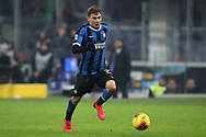 Nicolo Barella of Inter during the Serie A match at Giuseppe Meazza, Milan. Picture date: 9th February 2020. Picture credit should read: Jonathan Moscrop/Sportimage