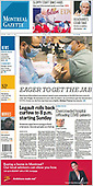 April 09, 2021 - CANADA: Front-page: Today's Newspapers In Canada