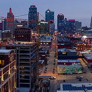 REVERB KC construction, early 2020, Downtown Kansas City, Missouri