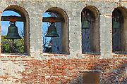 Bell Wall at The Historic Mission San Juan Capistrano