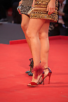 Fiammetta Cicogna shoes at the gala screening for the film Spotlight at the 72nd Venice Film Festival, Thursday September 3rd 2015, Venice Lido, Italy.