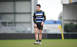Bath's Kieran Griffiths.  - Mandatory byline: Alex Davidson/JMP - 07966386802 - 30/01/2016 - RUGBY - Sandy Park -Exeter,England - Exeter Chiefs u18's v Bath Rugby u18's - U18 League