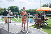 LAURA THOMPSON, Glorious Goodwood. Sussex. 28 July 2010, -DO NOT ARCHIVE-© Copyright Photograph by Dafydd Jones. 248 Clapham Rd. London SW9 0PZ. Tel 0207 820 0771. www.dafjones.com.