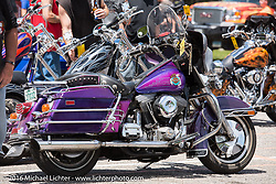 Custom Bike Show at Bentley's Saloon in Arundel, Maine during Laconia Motorcycle Week 2016. USA. Wednesday, June 16, 2016.  Photography ©2016 Michael Lichter.