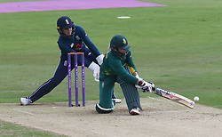 June 15, 2018 - Canterbury, England, United Kingdom - Dane van Niekerk of South Africa Women.during Women's One Day International Series match between England Women against South Africa Women at The Spitfire Ground, St Lawrence, Canterbury, on 15 June 2018  (Credit Image: © Kieran Galvin/NurPhoto via ZUMA Press)