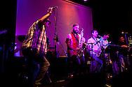 Sabor y Control in concert at La Noche de Barranco