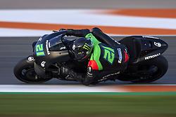November 21, 2018 - Valencia, Spain - Franco Morbidelli (21) of Italy and Petronas Yamaha SRT Yamaha during the test of the new MotoGP season 2019 at Ricardo Tormo Circuit in Valencia, Spain on 21th Nov 2018  (Credit Image: © Jose Breton/NurPhoto via ZUMA Press)