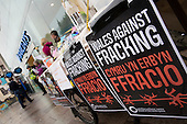 Barclay's Fracking Protest