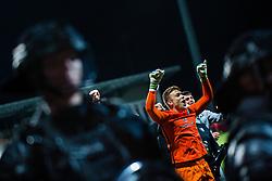 Nejc Vidmar of NK Olimpija celebrating with after winning final match of Slovenian football cup for season 2020/2021 between teams NK Olimpija Ljubljana and NK Celje, 25th May, 2021, Stadion Bonfika, Koper, Slovenia. Photo by Grega Valancic / Sportida