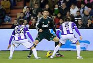 Real Madrid versus Valladolid, 8.12.12