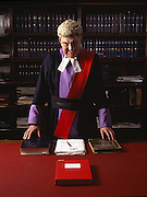 Portrait of a Judge<br /> Photography by Zac Macaulay<br /> Tel 0044 07947 884 517<br /> www.linkphotographers.com