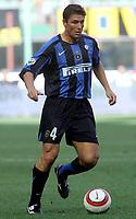 Milano 28/8/2005 Serie A 2005/2006<br /> <br /> Inter - Treviso 3-0<br /> <br /> Javier Zanetti inter<br /> <br /> Photo Graffiti