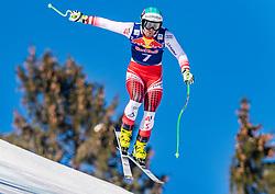 22.01.2019, Streif, Kitzbühel, AUT, FIS Weltcup Ski Alpin, Abfahrt, Herren, 1. Training, im Bild Vincent Kriechmayr (AUT) // Vincent Kriechmayr of Austria during the 1st Training of mens downhill of FIS Ski Alpine Worldcup at the Streif in Kitzbühel, Austria on 2019/01/22. EXPA Pictures © 2019, PhotoCredit: EXPA/ Stefan Adelsberger