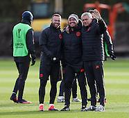 231116 Manchester Utd Training