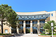 The Humanities Instructional Building on Campus at the University of California Irvine, UCI