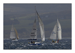 Brewin Dolphin Scottish Series 2011, Tarbert Loch Fyne - Yachting - Day 3 of the 4 day series. Windier!.CYCA Class 8, GBR8802T, Butterfly, Stevie Andrews, Strangford Lough YC, Harmony 44..