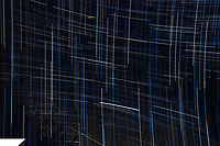 Operator Error. Right Angle Star Trails. Images taken with a Nikon D3 camera and 24 mm f/3.5 PC-E lens.