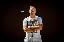 Rok Predanic, former Slovenian athlete and coach, on July 10, 2020 in ZAK, Ljubljana, Slovenia. Photo by Vid Ponikvar / Sportida