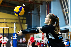 Naja Boisa of Calcit Volley during 3rd Leg Volleyball match between Calcit Volley and Nova KBM Maribor in Final of 1. DOL League 2020/21, on April 17, 2021 in Sportna dvorana, Kamnik, Slovenia. Photo by Matic Klansek Velej / Sportida