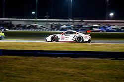 DAYTONA, FLORIDA - JANUARY 25, 2020: Porsche GT Team, Matt Campbell, Frederic Makowiecki and Nick Tandy driving the Porsche 911 RSR-19 during the 58th running of the IMSA WeatherTech Sports Car Championship Rolex 24 at Daytona International Speedway.