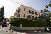 22 Idelson Street, Tel Aviv, Designed by Salomon Gepstein in 1932. in Tel Aviv White City. The White City refers to a collection of over 4,000 buildings built in the Bauhaus or International Style in Tel Aviv from the 1930s by German Jewish architects who emigrated to the British Mandate of Palestine after the rise of the Nazis. Tel Aviv has the largest number of buildings in the Bauhaus/International Style of any city in the world. Preservation, documentation, and exhibitions have brought attention to Tel Aviv's collection of 1930s architecture.