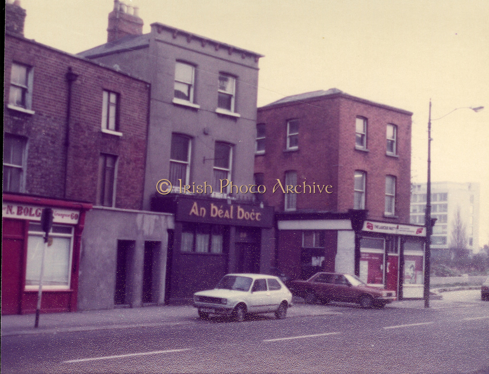 Old Dublin Amature Photos Date Unknown With 1980s An Béal Bocht,