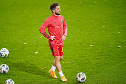 LEUVEN, BELGIUM - Sunday, November 15, 2020: Belgium's Dries Mertens during the pre-match warm-up before the UEFA Nations League Group Stage League A Group 2 match between England and Belgium at Den Dreef. (Pic by Jeroen Meuwsen/Orange Pictures via Propaganda)