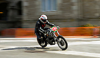 29-09-2013 Santander<br /> IV Gran Carrera Motos Clasicas en el Palacio de la Magdalena<br /> Reinerio Solar Fernandez , con la moto Ossa 250<br /> Fotos: Juan Manuel Serrano Arce