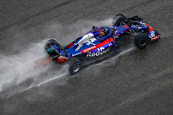 October 19, 2018 - Austin, United States - HARTLEY Brendon (nzl), Scuderia Toro Rosso Honda STR13, action during the 2018 Formula One World Championship, United States of America Grand Prix from october 18 to 21 in Austin, Texas, USA -  /   , Motorsports: FIA Formula One World Championship; 2018; Grand Prix; United States, FORMULA 1 PIRELLI 2018 UNITED S GRAND PRIX , Circuit of The Americas  (Credit Image: © Hoch Zwei via ZUMA Wire)