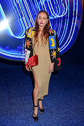 Millie Brown at the Warner Music & Ciroc Brit Awards party, Freemasons Hall, 60 Great Queen Street, London England. 22 February 2017.