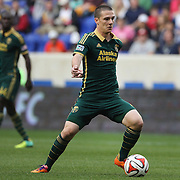 Will Johnson, Portland Timbers, in action during the New York Red Bulls Vs Portland Timbers, Major League Soccer regular season match at Red Bull Arena, Harrison, New Jersey. USA. 24th May 2014. Photo Tim Clayton