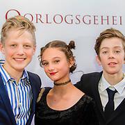 NLD/Amsterdam/20140630 - Premiere Oorlogsgeheimen, Joes Brauers, Pippa Allen en Maas Bronkhuyzen