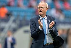 Cheftræner Glen Riddersholm (SønderjyskE) under finalen i Sydbank Pokalen mellem AaB og SønderjyskE den 1. juli 2020 i Blue Water Arena, Esbjerg (Foto Claus Birch).