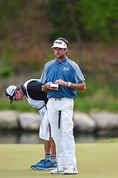 March 24, 2018 - Austin, TX, U.S. - AUSTIN, TX - MARCH 24: Bubba Watson gets ready to putt during the quarterfinals of the WGC-Dell Technologies Match Play on March 24, 2018 at Austin Country Club in Austin, TX. (Photo by Daniel Dunn/Icon Sportswire) (Credit Image: © Daniel Dunn/Icon SMI via ZUMA Press)