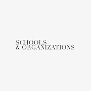 Schools & Organizations