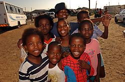 CAPE TOWN, SOUTH AFRICA - APRIL-29-2004 - There are about 500,000 people living in the Khayelitsha Township of Cape Town and 10% of the population is infected with HIV / AIDS . (REPORTERS © JOCK FISTICK)....