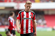 Mark Duffy of Sheffield United during the English League One match at Bramall Lane Stadium, Sheffield. Picture date: April 30th, 2017. Pic credit should read: Jamie Tyerman/Sportimage