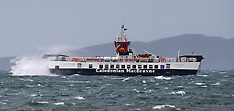CalMac Ferry in a Squall   Oban   29 September 2016
