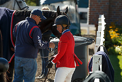 Madden John, Madden Beezie, (USA)<br /> Telus Cup<br /> Spruce Meadows Masters - Calgary 2015<br /> © Hippo Foto - Dirk Caremans<br /> 09/09/15