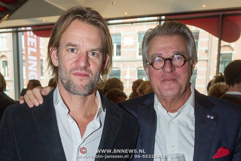 NLD/Amsterdam/20151123 - 5 jaar Delamar theater en 10 Jaar Van den Ende Foundation viering, Jasper Krabbe en Jeroen Krabbe