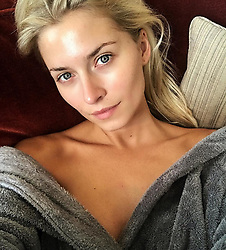"""Lena Gercke releases a photo on Instagram with the following caption: """"Giving my skin some time to breathe before getting ready for tonight's show \ud83d\udcab"""". Photo Credit: Instagram *** No USA Distribution *** For Editorial Use Only *** Not to be Published in Books or Photo Books ***  Please note: Fees charged by the agency are for the agency's services only, and do not, nor are they intended to, convey to the user any ownership of Copyright or License in the material. The agency does not claim any ownership including but not limited to Copyright or License in the attached material. By publishing this material you expressly agree to indemnify and to hold the agency and its directors, shareholders and employees harmless from any loss, claims, damages, demands, expenses (including legal fees), or any causes of action or allegation against the agency arising out of or connected in any way with publication of the material."""