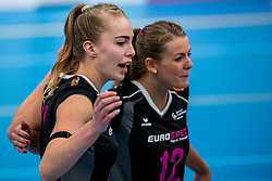 29-09-2018 NED: Supercup Sliedrecht Sport - Eurosped, Sliedrecht<br /> Sliedrecht takes the first price of the new season / Laura de Zwart #10 of Eurosped
