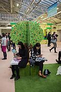 The London book Fair, Olympia, London, 12 March 2019