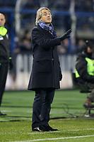 """L'Allenatore dell'Inter Roberto Mancini<br /> Empoli 06-01-2016 Stadio """"Carlo Castellani""""<br /> Football Calcio 2015/2016 Serie A TIM <br /> Empoli-Inter<br /> Foto Luca Pagliaricci / Insidefoto"""
