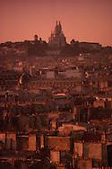 Montmarte at Sunset